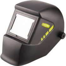 Extol Craft hegesztőpajzs, fekete üveggel; DIN 13, UV/IR: DIN16, 100×85mm, 480g