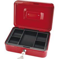 Extol Craft pénzkazetta, 2db kulccsal, változó színekben, festett acél ; 250×180×90/0,8mm |99012|