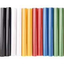 Extol Craft ragasztóstift klt., többszínű; 12db, 100×11mm, bliszteren