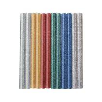 Extol Craft ragasztóstift klt., csillogó többszínű; 12db, 100×7,2mm, bliszteren |9910|