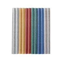 Extol Craft ragasztóstift klt., csillogó többszínű; 12db, 100×7,2mm, bliszteren