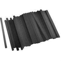 Extol ragasztóstift klt., 1 kg, fekete színű; 200×11mm (kb. 50 db) |9913A|