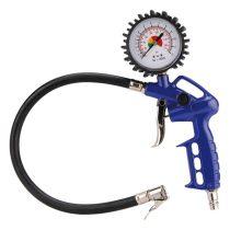 Extol Craft gumiabroncs fuvató pisztoly 40cm, nyomótömlővel, nyomásmérővel, 3-6 bar |99312|
