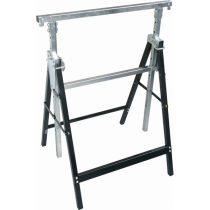 EXTOL CRAFT asztalosbak, állítható. összecsukható; 810mm-1300mm, max. terhelés: 300kg, saját tömeg: 6,5 kg, festett fémlábak