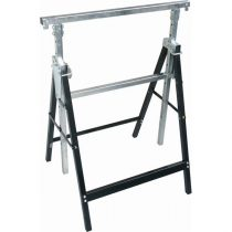 Extol Craft asztalosbak/festőbak állítható, összecsukható; 810mm-1300mm, max. terhelés: 150kg, saját tömeg: 6,5 kg, festett fémlábak  9994 