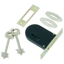 Flame reteszzár, bevéső, duplatollú, ,2 kulccsal,  (patkózár), Flame |84648|
