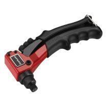 Fortum popszegecshúzó fogó, egykezes, ALU, réz, acél, INOX szegecsekhez; 2,4-3,2-4,0-4,8mm, 200mm, CrVMo fej FORTUM |4770600|