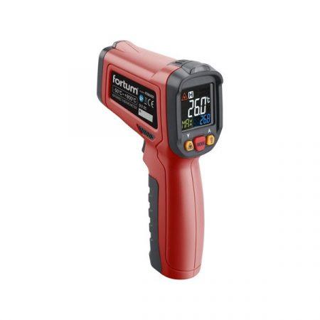 Fortum infravörös, digitális hőmérő, -40°C~ +800°C, LCD kijelző, nem testhőmérő