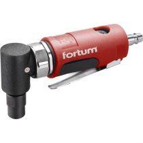 """Fortum pneumatikus furatköszörű, derékszögű, 125 mm,1/4""""; (6 és 3 mm bef), 20.000 1/min, 127 l/min, 6,3 Bar, 1/4"""" csatl., 0,5kg"""