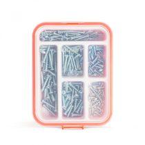 Handy Önmetsző csavar készlet - 3.5-5 mm - 210 részes
