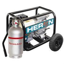 """Heron benzin-gázmotoros zagyszivattyú (EMPH 80 WG) 6,5 LE 3"""" (85mm-6menet)"""
