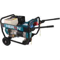 Heron benzinmotoros áramfejlesztő, 6800 VA, 400/230 V, hordozható (EGI 68-3) |8896132|