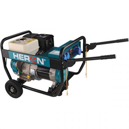 Heron benzinmotoros áramfejlesztő, 6800 VA, 230V hordozható (EGI 68)  8896133 