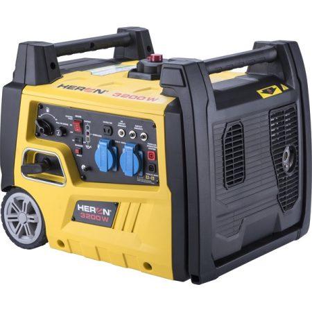 Heron benzinmotoros áramfejlesztő, 3,0 kVA, 230V, digitális szabályzással