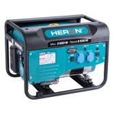 Heron benzinmotoros áramfejlesztő, max 2800 VA, egyfázisú |8896416|