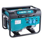 Heron benzinmotoros áramfejlesztő, max 2800 VA, egyfázisú