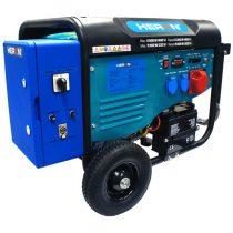Heron HERON 420 BLUE, 3 fázisú, 6 kVA-es, távindítóval felszerelt áramfejlesztő