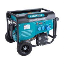 Heron benzinmotoros áramfejlesztő, max 6800 VA, egyfázisú, önindítós |8896421|