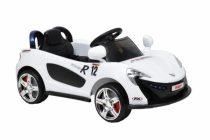 Hecht akkumulátoros gyerek autó (fehér)  HECHT51119 