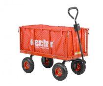 Hecht kerti traktor 4 kerekű utánfutó, 215l max 300kg |52184|