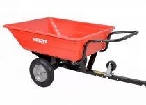Hecht kerti traktor 2 kerekű utánfutó, 340l max 300kg  53080 