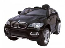 Hecht akkumulátoros gyerek autó  BMWX6-BLACK 