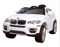 Hecht akkumulátoros gyerek autó |BMWX6-WHITE|