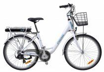 Hecht elektromos kerékpár+kosár |HECHTPRIMEWHITEK|