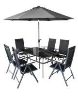Hecht kerti bútor napernyővel