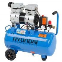 Hyundai HYD-24F 8bar, Csendes Olajmentes Kompresszor |1326|