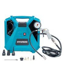 Hyundai HYD-11, 8bar Hordozható Olajmentes kompresszor |1445|