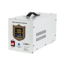 Kemot szinuszos szünetmentes tápegység - 12v / 700w / fehér -URZ3406-