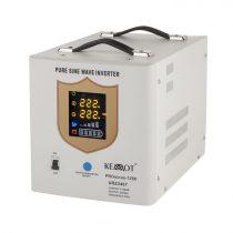 Kemot szinuszos szünetmentes tápegység - 12v / 1200w / fehér -URZ3407-