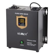 Kemot fali szinuszos szünetmentes tápegység, akkumulátor nélkül - 12v / 300w