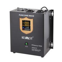 Kemot fali szinuszos szünetmentes tápegység - 12v / 700w -URZ3410-