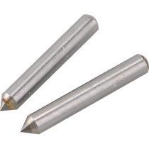 Extol tartalék gravírozó fej, 2 db, a 404130 mini gravírozó géphez; volfrám-karbid (vídia), 3,1×21 mm |404130A|