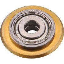 Extol vágókerék a 8841052, 8841054, 8841056 csempevágókhoz, titánium-volfrám-karbid, 22×6×5mm, csapágyas |8841030|