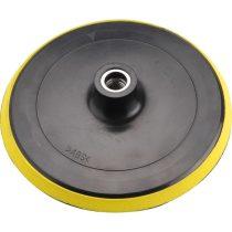 Extol tartalék gumi talp 8892500 polírozógéphez, tépőzáras, átmérő: 180mm, M14, max: 8500 ford/perc