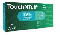 Ansell zöld nitril púdermentes egyszerhasználatos kesztyű 92-600