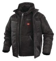 Milwaukee Fűthető kabát fekete (akku és töltő nélkül) M12 HJ 3IN1-0-XXL