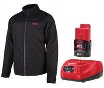 Milwaukee Fűthető kabát hibrid + akku és töltő szett, M12 HJP-0
