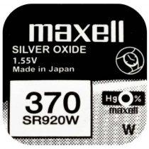 Maxell gombelem 1 db/ár 370/SR920W/V370 1BP Ag