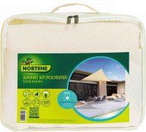 Nortene Sunnet kit polyester - napvitorla, bézs, 3,6 x 3,6 x 3,6 m