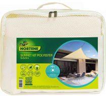 Nortene Sunnet kit polyester - napvitorla, bézs, 5 x 5 x 5 m