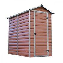 Palram Skylight 120 x 180 barna kerti ház