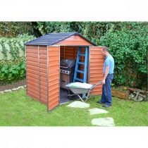 Palram Skylight 180 x 150 barna kerti ház