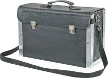 Szerszámos táska bőrből 430x285x170 mm
