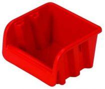 Csavartartó doboz piros P1 108x110x75 mm