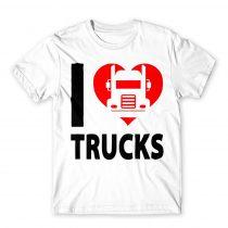 I love trucks Póló