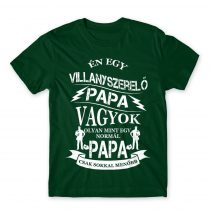 Villanyszerelő papa Póló